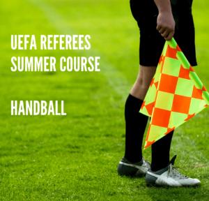 UEFA Referees Summer Course – Handball